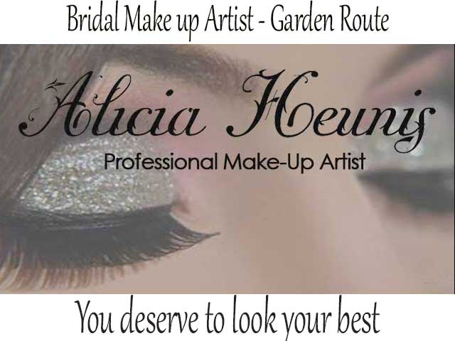 Professional Bridal Make-up in the Garden Route, Mossel Bay