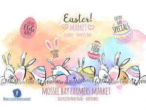 Easter Egg Hunt and Specials at Mossel Bay Farmers Market