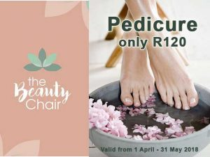 Pedicure Beauty Treatment at Hartenbos Beauty Salon