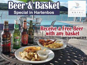 Beer and Basket Special in Hartenbos