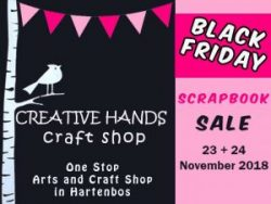 Black Friday Scrapbooking Sale Hartenbos