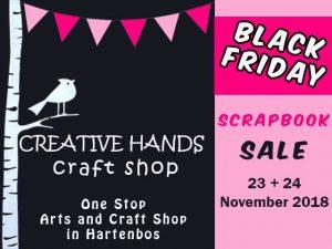 Black Friday Scrapbooking Sale Hartenbos