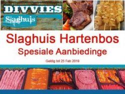 Februarie Slaghuis Spesiale Aanbiedinge Hartenbos