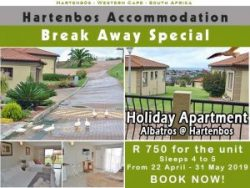 Hartenbos Accommodation Special Offer