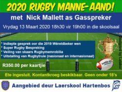 2020 Rugby Manne-aand Hartenbos