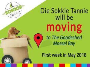 Die Sokkie Tannie Moving to the Goodsshed Mossel Bay